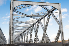 Old truss bridge in the Netherlands Stock Photography