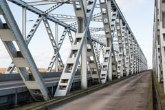 Old truss bridge in the Netherlands Royalty Free Stock Photos