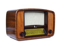 Old tube radio Royalty Free Stock Photo