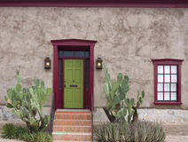 Old Tucson, house entrance Stock Photography