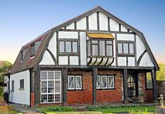 Old tudor cottage Stock Images