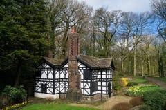 The old Tudor house Royalty Free Stock Photo