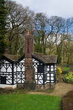 The old Tudor house Stock Image