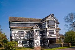 The old tudor mansion Stock Photos
