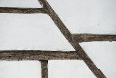 Old tudor style wall Royalty Free Stock Photo