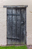 Old tudor wooden house back door antique medieval.  Stock Photography