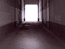 Old tunnel Stock Photography