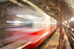 Old Tunnel Line Royalty Free Stock Photo