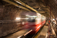 Old Tunnel Line Royalty Free Stock Image