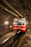 Old Tunnel Line. From Karakoy to Istiklal Street, Istanbul stock photography