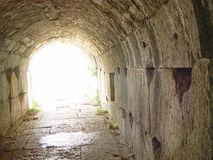 Old tunnel - Miletus, Turkey Royalty Free Stock Photos