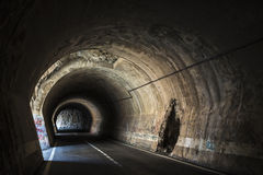 Old tunnel in Spain Stock Photography