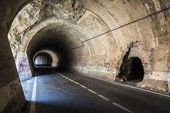Old tunnel in Spain Stock Photo
