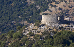 Old Turkish castle at Crete island in Greece Royalty Free Stock Images