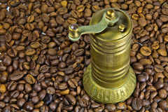 Old turkish coffee grinder Stock Photos