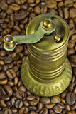 Old turkish coffee grinder Royalty Free Stock Photography