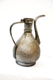 Old turkish copper water jug. Picture of a Old copper water jug Royalty Free Stock Photo