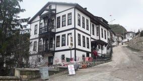 Old turkish house. Ottoman house turkey Royalty Free Stock Image