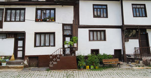 Old Turkish Houses Stock Photography