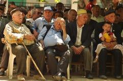 Old turkish mans Stock Photo