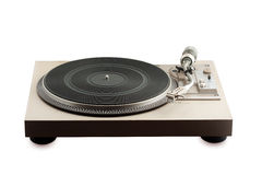 Old turntable Royalty Free Stock Photos