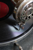 Old turntable 2 Royalty Free Stock Photo