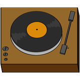 Old turntable Stock Photography