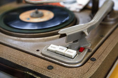 Old Turntable royalty free stock image