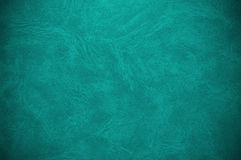 Old turquoise book cover. Abstract background or texture Royalty Free Stock Image