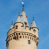 Old Turret with Crenels Royalty Free Stock Photography