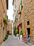 Old Tuscan street Royalty Free Stock Photography
