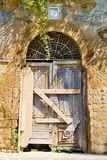 Old Tuscany door Stock Images