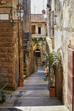 Old Tuscany town. Italy concept . Stock Image