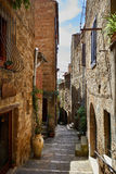 Old Tuscany town. Italy concept .. Stock Images