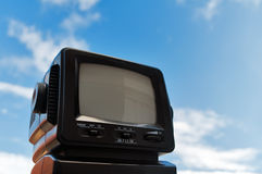 Old TV stock image