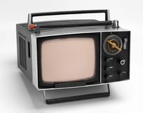 OLD TV 2 royalty free stock photography