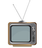 Old tv. Royalty Free Stock Image