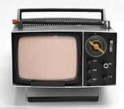 OLD TV 3 Stock Photo