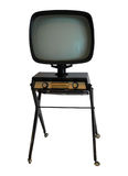 old tv Στοκ φωτογραφία με δικαίωμα ελεύθερης χρήσης
