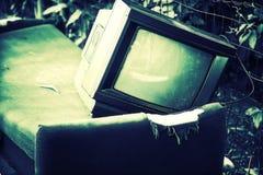 old tv Στοκ Εικόνες