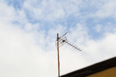 Old TV antenna Stock Photos