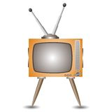 Old tv Stock Photography