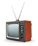 Old TV Royalty Free Stock Images