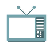 Old tv isolated icon design Stock Image