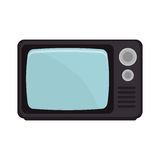 old tv isolated icon Stock Image