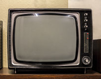 Old TV. This old TV is nostalgic just to look at. It is a piece of history in itself Stock Photography