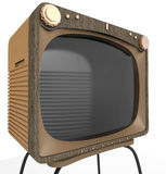 Old tv set close up Royalty Free Stock Image