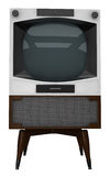 Old tv set Stock Images