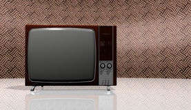 Old TV - vintage Stock Images