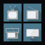 Old TVs Stock Images